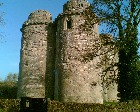 Nunney castle - Built on French lines by a returning crusader