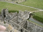 Portchester Castle - Normans Built a Castle inside a Roman Fort placed to defend the shores
